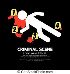 scene., criminel