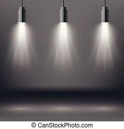 Scene Illumination Effects with Spotlight.