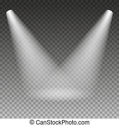 Scene illumination light effect.