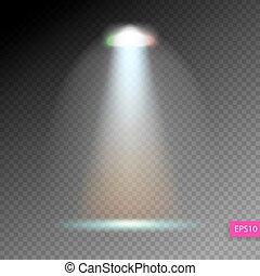 scene illumination show, bright lighting with spotlights, floodl