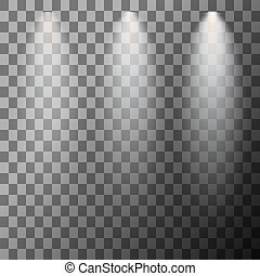 Scene illumination spotlight