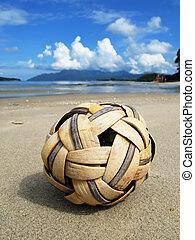 scene., malaysia, spiaggia, langkawi