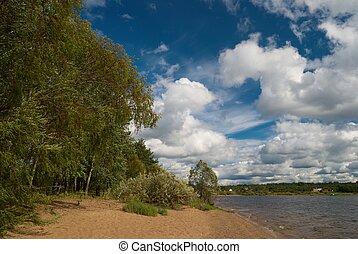 Scene near the lake