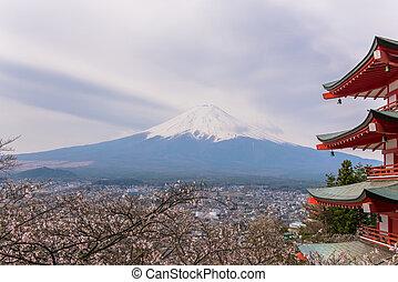 fujisan - scene of fujisan japan