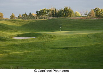 sceneries, golf