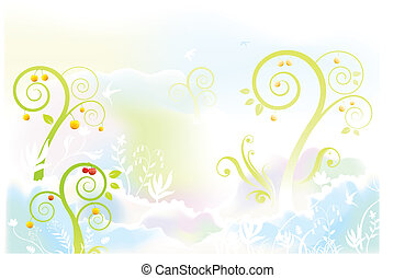 scenery background