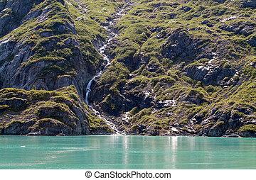 Scenery in Glacier Bay, Alaska