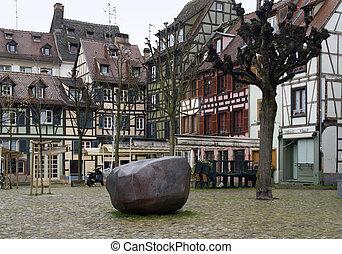 scenery in Strasbourg detail