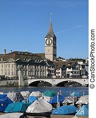 Scenery in Zurich