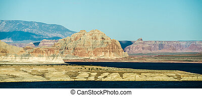 scenery near lake powell arizona