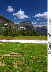 Scenery of Glacier National Park