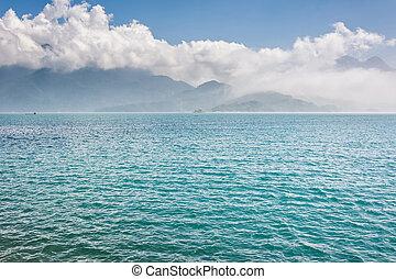 Scenery of Sun Moon Lake