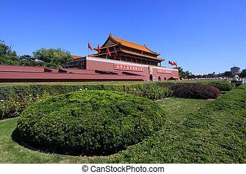 scenery of the Forbidden City, in Beijing