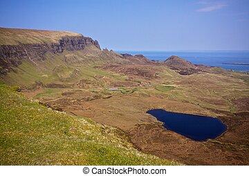 Scenery on Isle of Skye