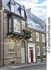 Scenes from Old Town Quebec City - Canada's Quebec City with...