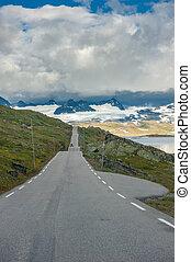 Scenic 55 road, Norway