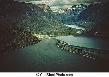 Alpine Route in Western Norway
