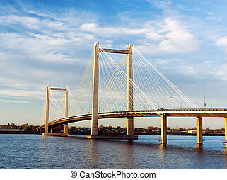 Scenic Cable bridge in Washington. - The Benton Franklin ...
