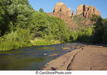 Scenic Cathedral rock