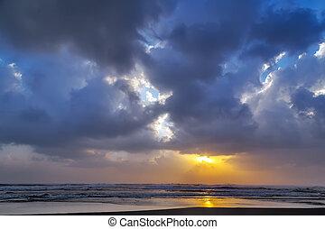 cloud sunset sky background