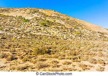 Scenic desert type landscape near Kliprand in South Africa