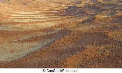 scenic flight on desert Sossusvlei in the Namib Naukluft...