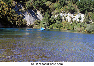 scenic lake for boat ride