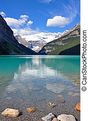 Scenic Lake Louise in Canada