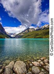 Scenic Lake Louise of Banff Alberta