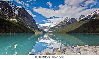 Scenic Lake Louise of Banff Alberta