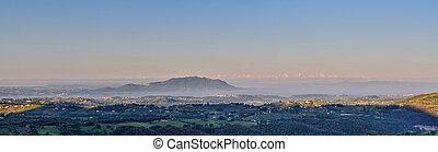 Scenic landscape, Italy