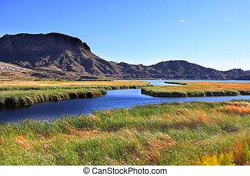 Bill Williams wild life refugee - Scenic landscape near Bill...