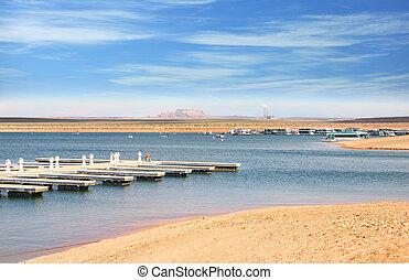 Lake Powell near Page Arizona