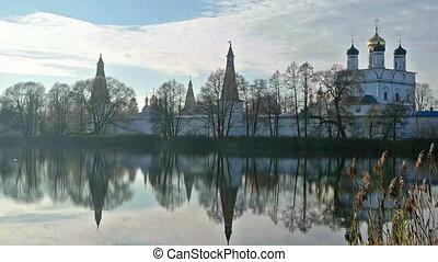 Scenic landscape with Joseph Volokolamsk Monastery - Joseph...