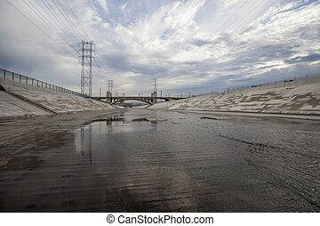 Scenic Los Angeles River