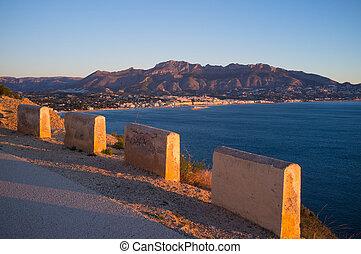 Scenic Mediterranean road
