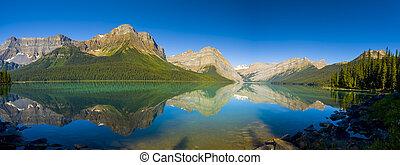 Scenic Mountain Lake