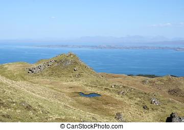 Scenic natural view of Scottish Highlands, United Kingdom