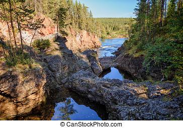 Scenic River in National Park
