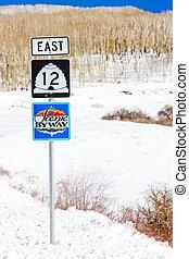scenic road number 12, Utah, USA