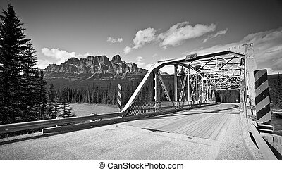 Scenic Roadway in banff National park