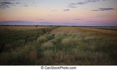 Scenic safari desert landscape - An idyllic still shot of a...
