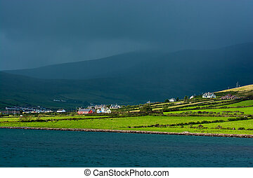 Settlement at Coast of Ireland