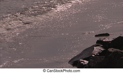 Scenic steady shot of a coastline - A steady scenic shot of...