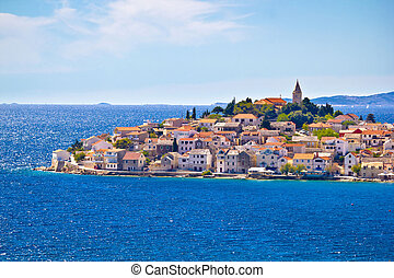 Scenic town of Primosten view