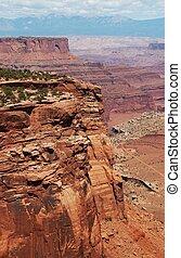 Scenic Utah State. Canyonland State Park, Utah USA. Amazing ...