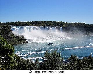 Niagara Falls - Scenic view from Niagara Falls...