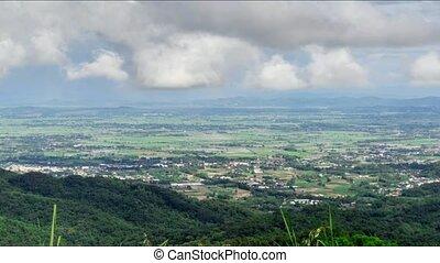 Scenic view of Doi Tung