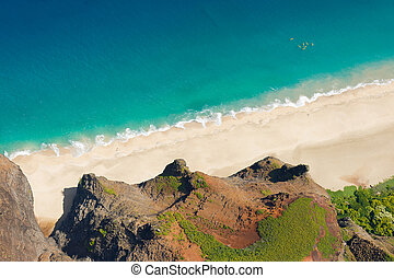 Kauai island beach