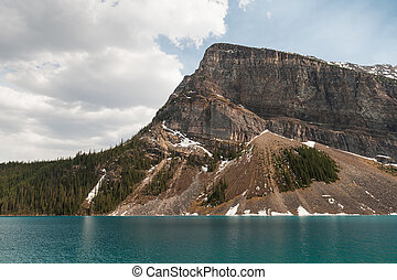 scenic view  of Lake Louise mountains